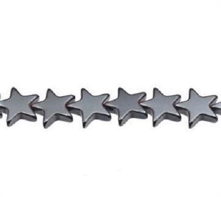 Hématite étoile 6mm