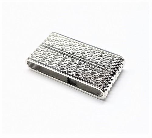Attache magnétique rectangle 38 x 20mm