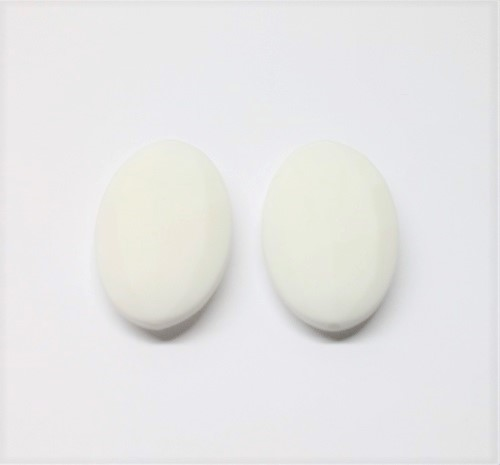 Silicone oval plat 40 x 25 x 9mm