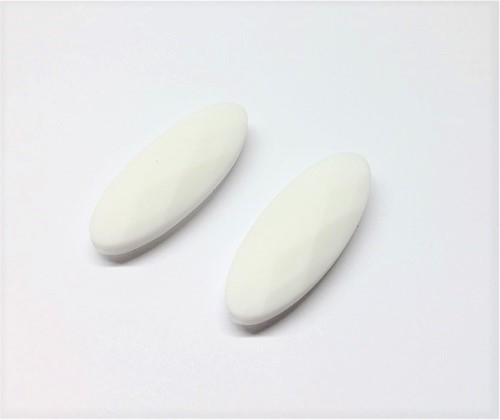 Silicone marquise 40 x 15 x 3.5mm