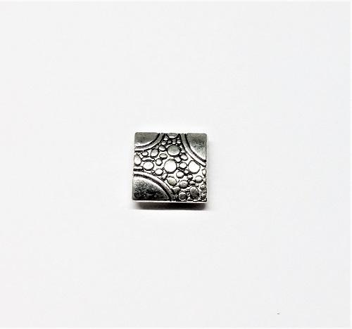 Pièce de métal carré 10 x 10mm