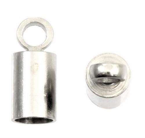 Connecteur bout de cordon 4mm sans nickel, sans plomb