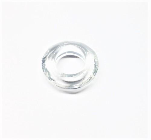 Cristal Chinois anneau sans trou 30mm