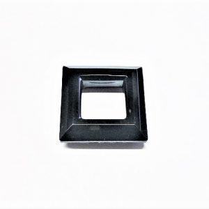 Cristal Chinois carré sans trou 30mm