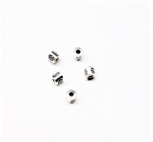 Cylindre en métal 4 x 3mm