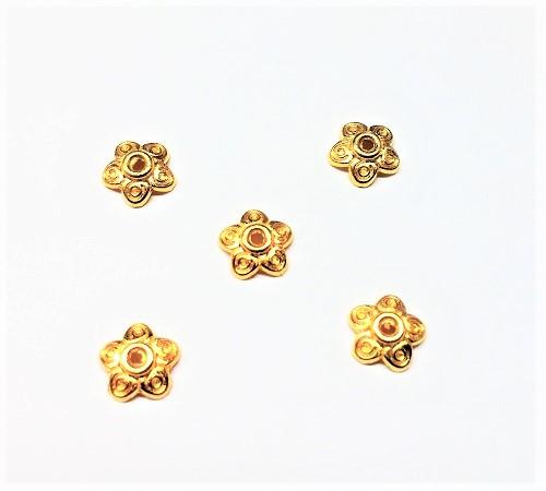 Capuchon de perle en métal 10mm