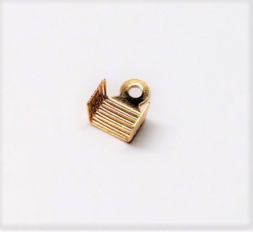"Connecteur en ""U"" plat 7 x 10mm sans nickel, sans plomb"