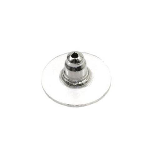 Ogive à boucle d'oreille avec disque sans nickel, sans plomb