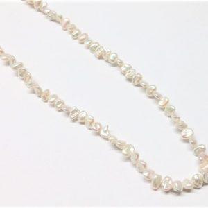 Perle véritable keshi naturel 5.5-6mm