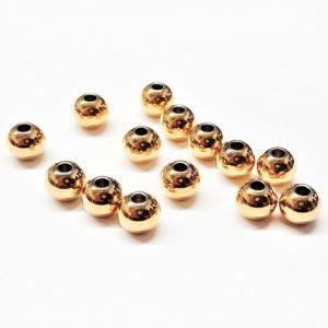 Boule en acier inoxydable or 6mm