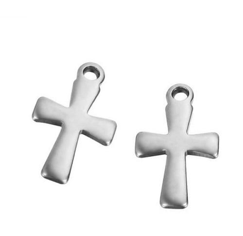 Acier inoxydable 304 Pendentif/Breloque croix