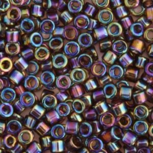 DB-0180 Delica 11/0 Miyuki Bronze Transparent AB