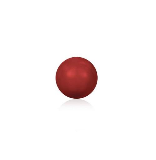 Swarovski 5810 perle de cristal 4mm Red Coral