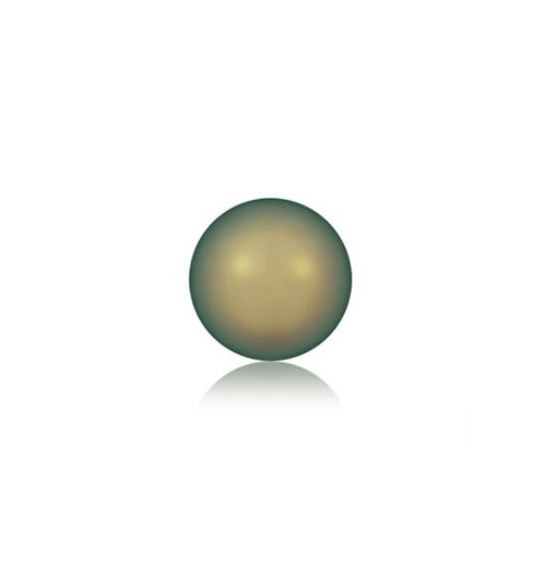 Swarovski 5810 perle de cristal 4mm Iridescent Green