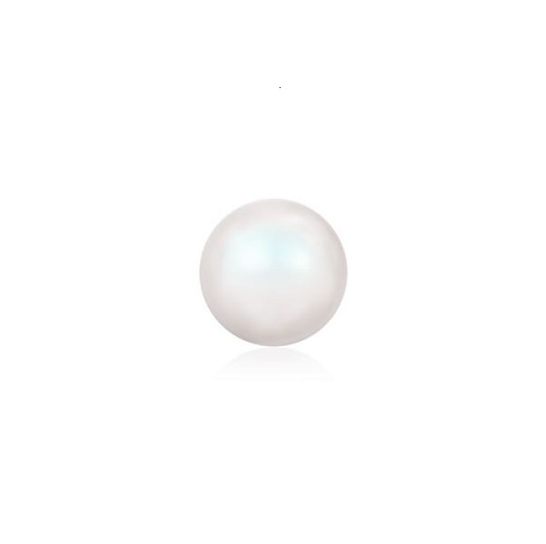 Swarovski 5810 perle de cristal 4mm Pearlescent White