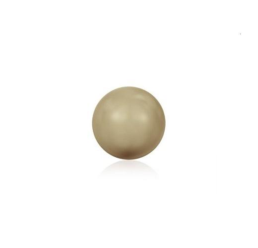 Swarovski 5810 perle de cristal 6mm Vintage Gold