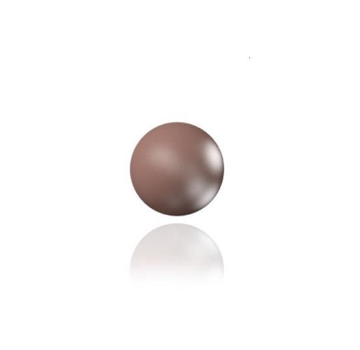 Swarovski 5810 perle de cristal 6mm Velvet Brown