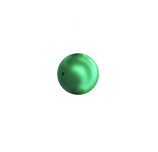 Swarovski 5810 perle de cristal 6mm Eden green