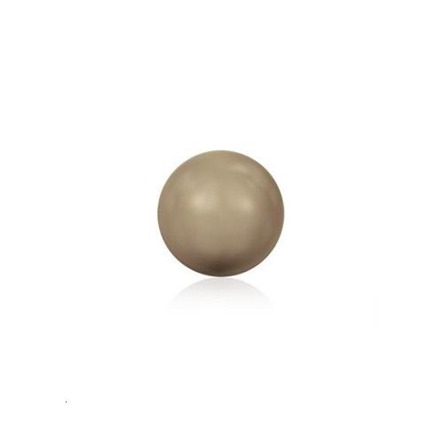 Swarovski 5810 perle de cristal 8mm Bronze