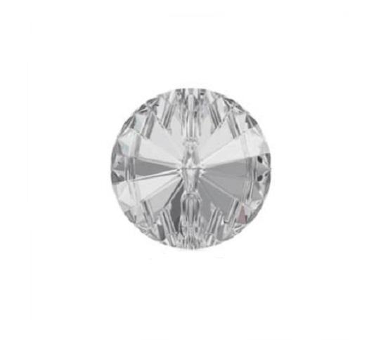 Swarovski 3015 rivoli bouton 10mm crystal