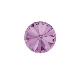 Swarovski 1122 rivoli 12mm light amethyst