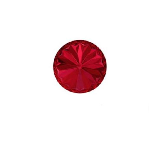 Swarovski 1122 rivoli 12mm scarlet