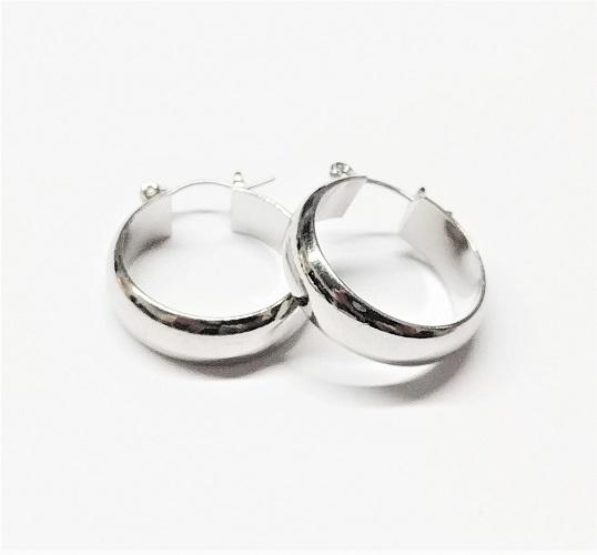 Boucle d'oreille anneau 20mm
