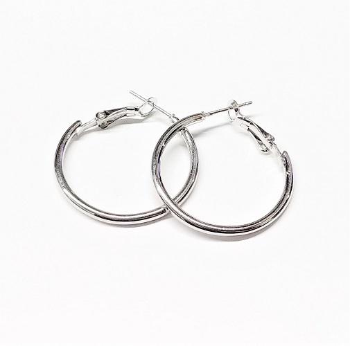 Boucle d'oreille anneau 30mm