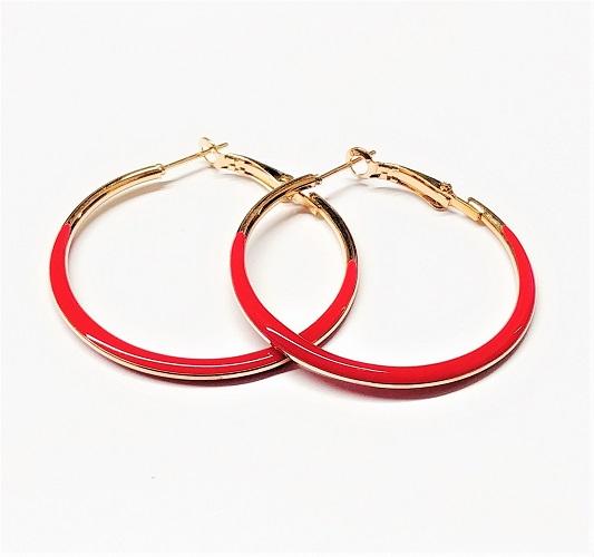Boucle d'oreille anneau 40mm