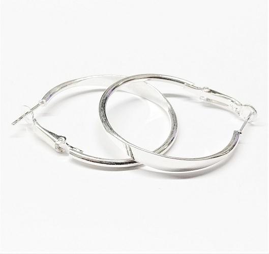 Boucle d'oreille anneau