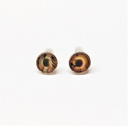 Boucle d'oreille nacre 10mm