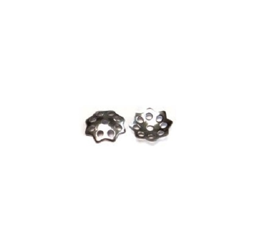 Acier inoxydable 304 capuchon de perle 8.6mm