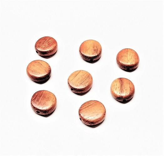 Pastille de bois naturel 15 x 4mm