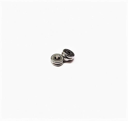 Acier inoxydable 304 séparateur 6 x 3mm
